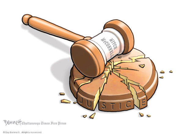 Clay Bennett  Clay Bennett's Editorial Cartoons 2020-01-26 trial