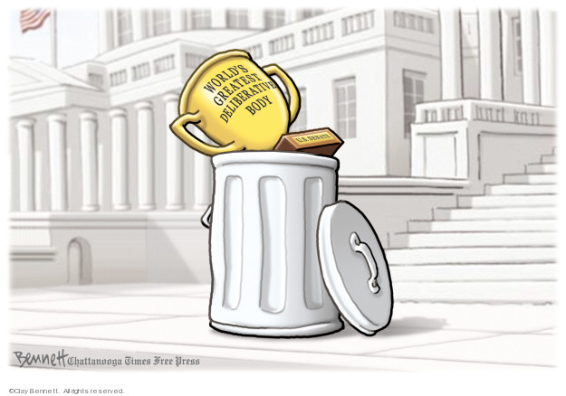 Clay Bennett  Clay Bennett's Editorial Cartoons 2020-01-29 trial