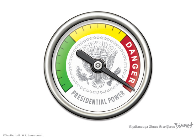 Cartoonist Clay Bennett  Clay Bennett's Editorial Cartoons 2020-01-31 democracy