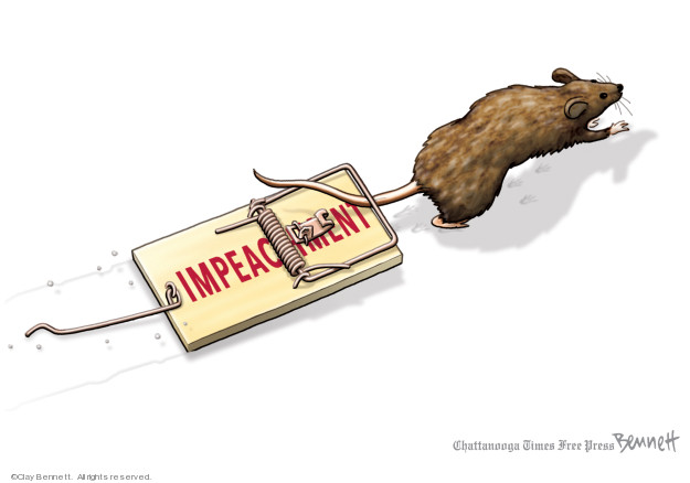 Clay Bennett  Clay Bennett's Editorial Cartoons 2020-02-07 abuse of power