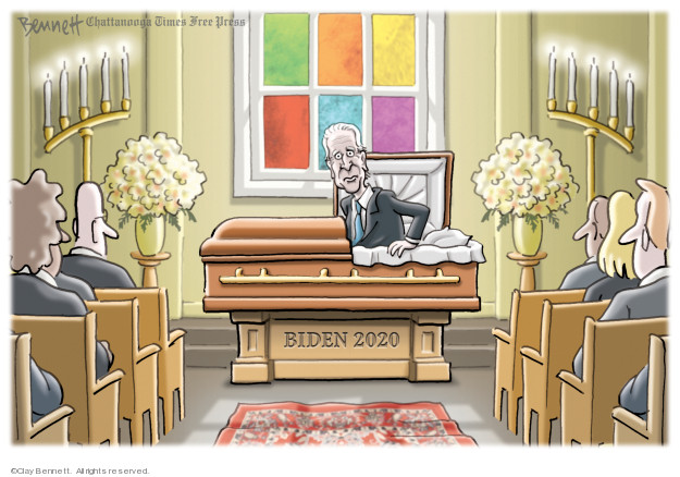 Cartoonist Clay Bennett  Clay Bennett's Editorial Cartoons 2020-03-08 2020 election