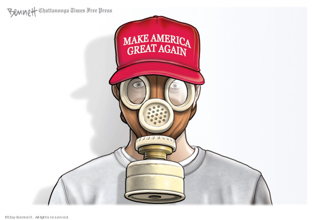 Clay Bennett  Clay Bennett's Editorial Cartoons 2020-03-06 presidential administration