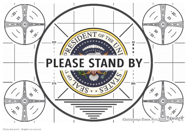 Clay Bennett  Clay Bennett's Editorial Cartoons 2020-03-20 United States