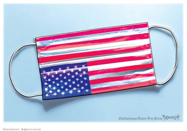 Cartoonist Clay Bennett  Clay Bennett's Editorial Cartoons 2020-03-21 American
