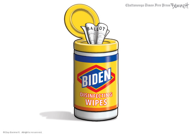 Cartoonist Clay Bennett  Clay Bennett's Editorial Cartoons 2020-04-12 editorial