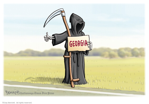 Cartoonist Clay Bennett  Clay Bennett's Editorial Cartoons 2020-04-26 editorial