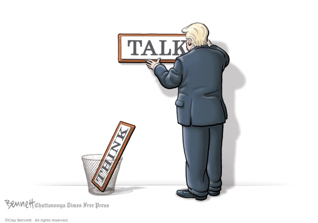 Cartoonist Clay Bennett  Clay Bennett's Editorial Cartoons 2020-04-25 Donald Trump