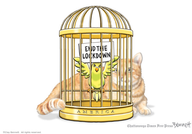 Clay Bennett  Clay Bennett's Editorial Cartoons 2020-05-05 social