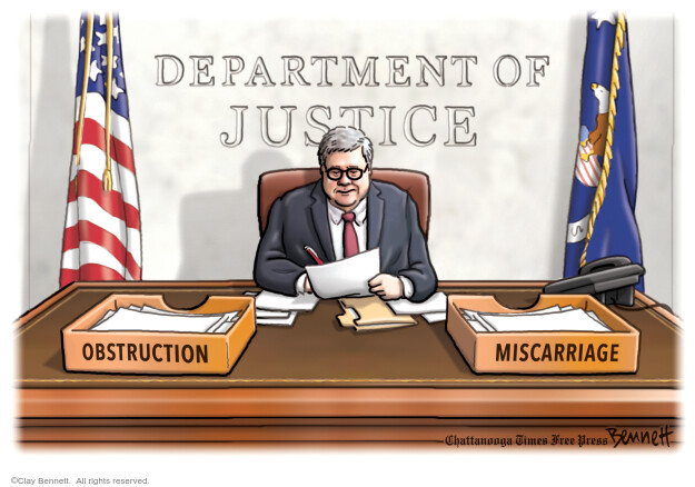 Cartoonist Clay Bennett  Clay Bennett's Editorial Cartoons 2020-05-16 Donald Trump