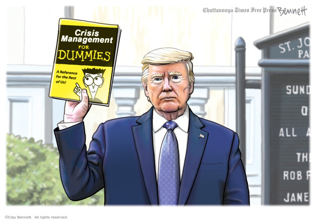 Clay Bennett  Clay Bennett's Editorial Cartoons 2020-06-05 Donald