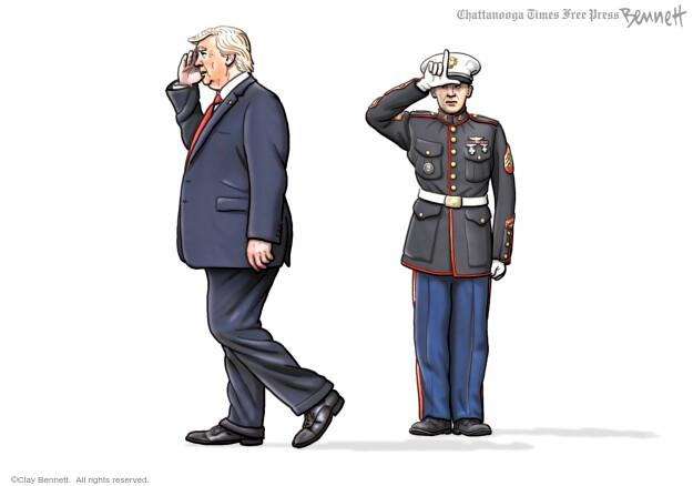 Clay Bennett  Clay Bennett's Editorial Cartoons 2020-06-13 Donald