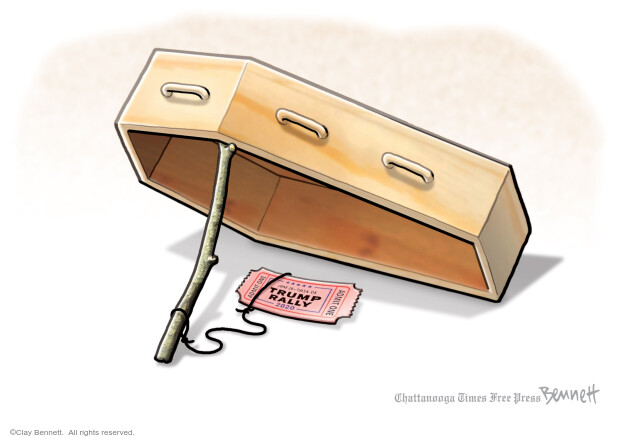 Clay Bennett  Clay Bennett's Editorial Cartoons 2020-06-19 Donald