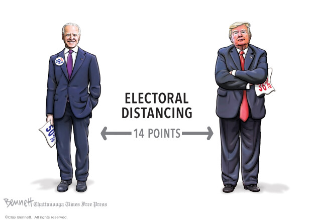 Clay Bennett  Clay Bennett's Editorial Cartoons 2020-06-26 presidential election
