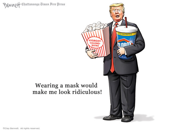 Clay Bennett  Clay Bennett's Editorial Cartoons 2020-07-05 Trump administration