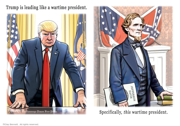 Clay Bennett  Clay Bennett's Editorial Cartoons 2020-07-12 presidential administration