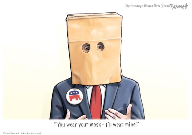 Clay Bennett  Clay Bennett's Editorial Cartoons 2020-07-11 republican
