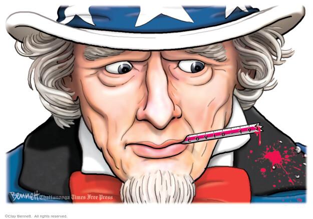 Clay Bennett  Clay Bennett's Editorial Cartoons 2020-07-14 editorial