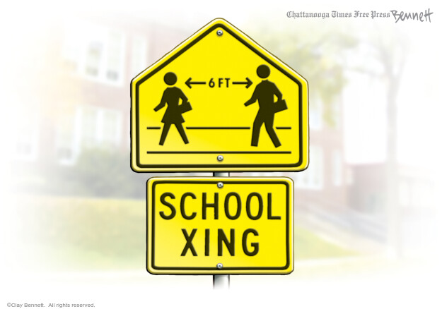 Clay Bennett  Clay Bennett's Editorial Cartoons 2020-07-15 social