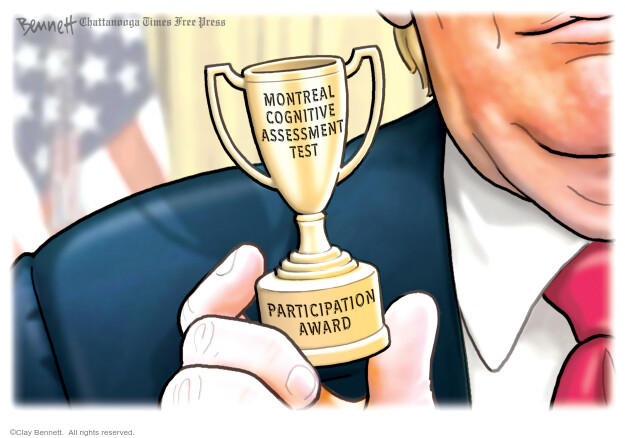 Clay Bennett  Clay Bennett's Editorial Cartoons 2020-07-19 presidential administration