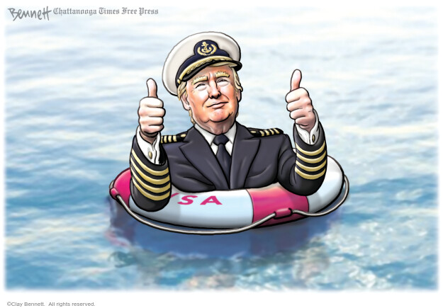 Clay Bennett  Clay Bennett's Editorial Cartoons 2020-07-18 United States