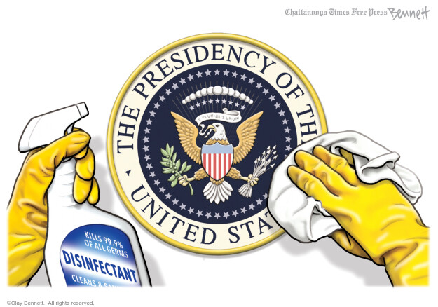 Clay Bennett  Clay Bennett's Editorial Cartoons 2020-07-21 coronavirus