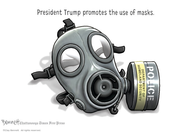 Clay Bennett  Clay Bennett's Editorial Cartoons 2020-07-26 presidential election