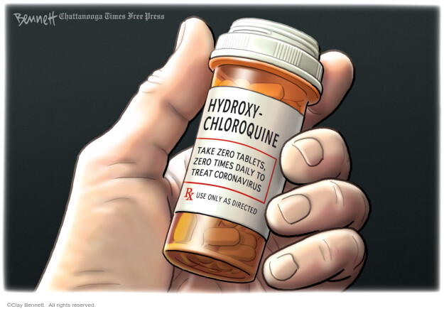 Clay Bennett  Clay Bennett's Editorial Cartoons 2020-08-02 virus