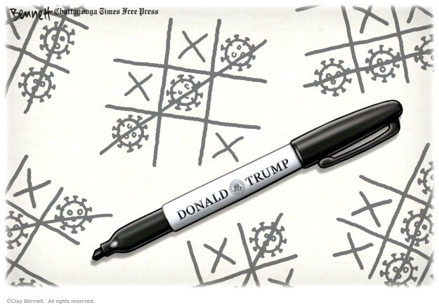 Clay Bennett  Clay Bennett's Editorial Cartoons 2020-08-01 presidential administration