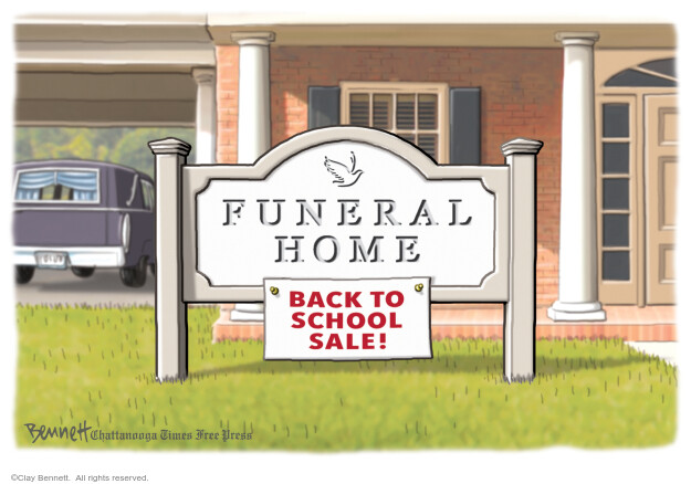 Clay Bennett  Clay Bennett's Editorial Cartoons 2020-08-05 coronavirus