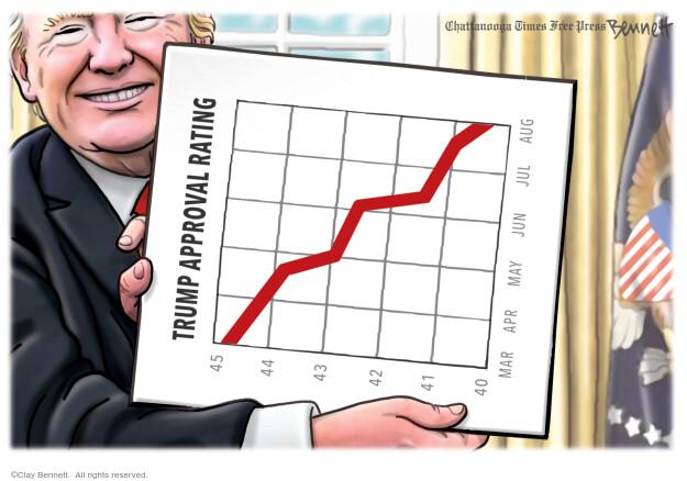 Clay Bennett  Clay Bennett's Editorial Cartoons 2020-08-09 Donald Trump