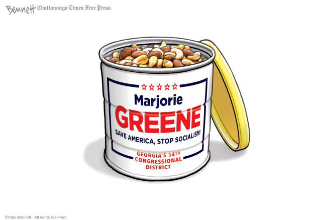 Clay Bennett  Clay Bennett's Editorial Cartoons 2020-08-22 candidate