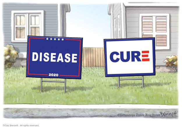 Clay Bennett  Clay Bennett's Editorial Cartoons 2020-08-25 Donald Trump