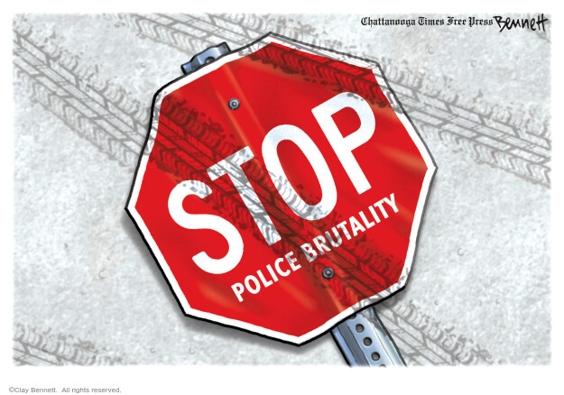Clay Bennett  Clay Bennett's Editorial Cartoons 2020-08-26 Black Lives Matter