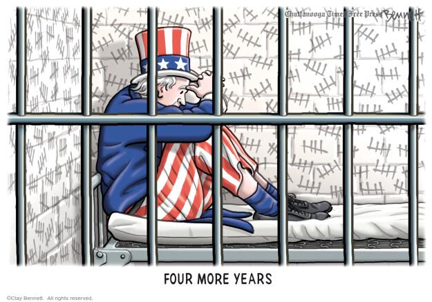 Clay Bennett  Clay Bennett's Editorial Cartoons 2020-08-28 candidacy