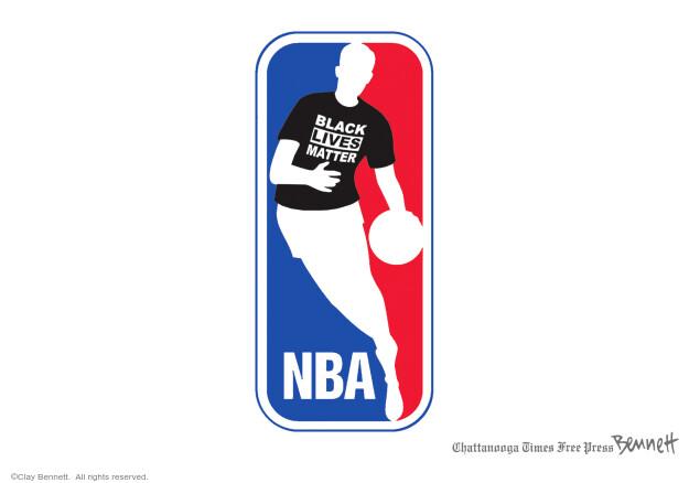 Clay Bennett  Clay Bennett's Editorial Cartoons 2020-08-31 Black Lives Matter