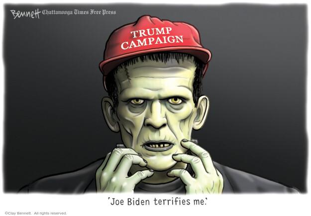 Clay Bennett  Clay Bennett's Editorial Cartoons 2020-09-01 presidential election