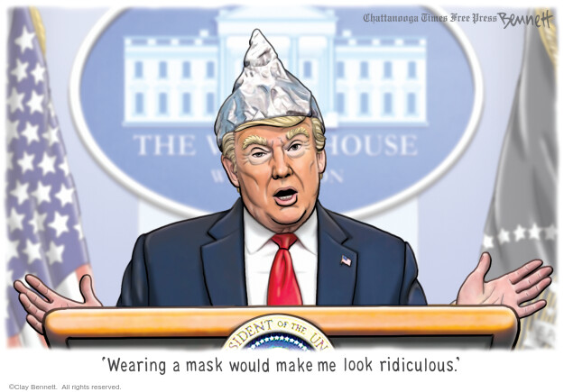 Clay Bennett  Clay Bennett's Editorial Cartoons 2020-09-02 Donald Trump