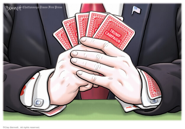 Clay Bennett  Clay Bennett's Editorial Cartoons 2020-09-04 Donald Trump