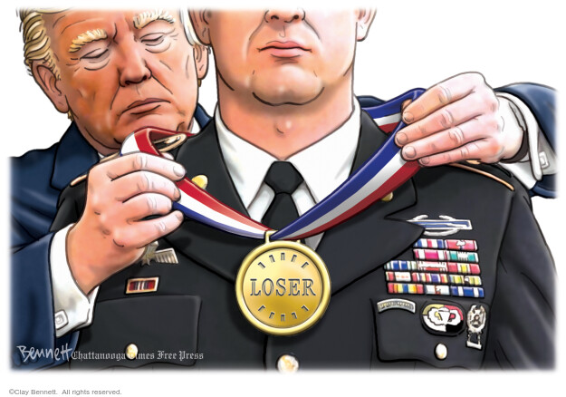 Clay Bennett  Clay Bennett's Editorial Cartoons 2020-09-05 Donald Trump