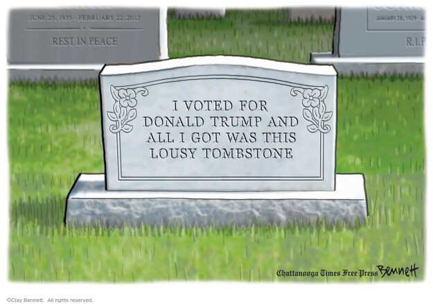 Clay Bennett  Clay Bennett's Editorial Cartoons 2020-09-12 Donald Trump