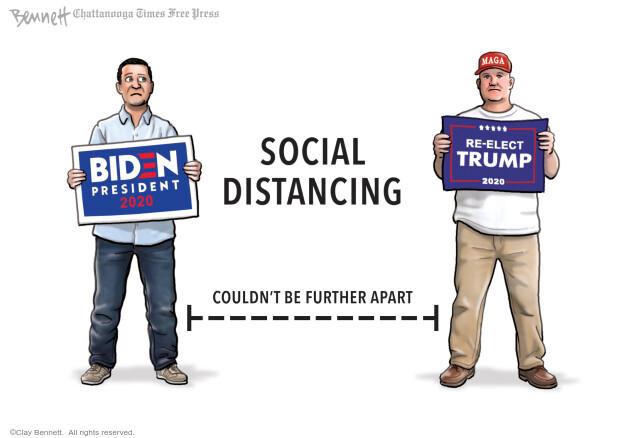 Clay Bennett  Clay Bennett's Editorial Cartoons 2020-09-16 Donald Trump