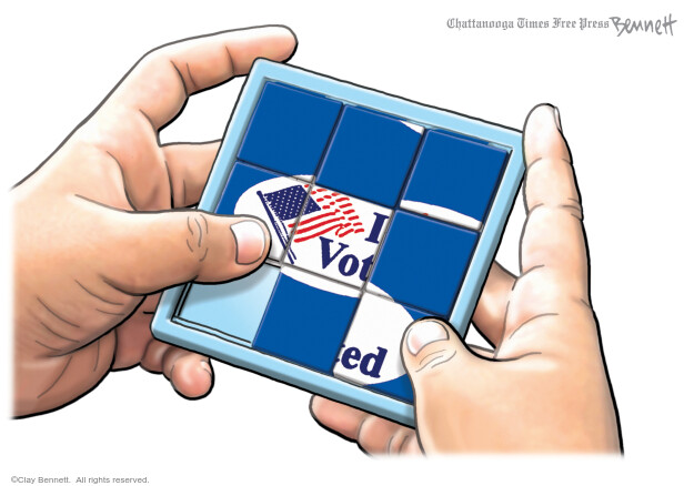 Clay Bennett  Clay Bennett's Editorial Cartoons 2020-09-20 voting rights