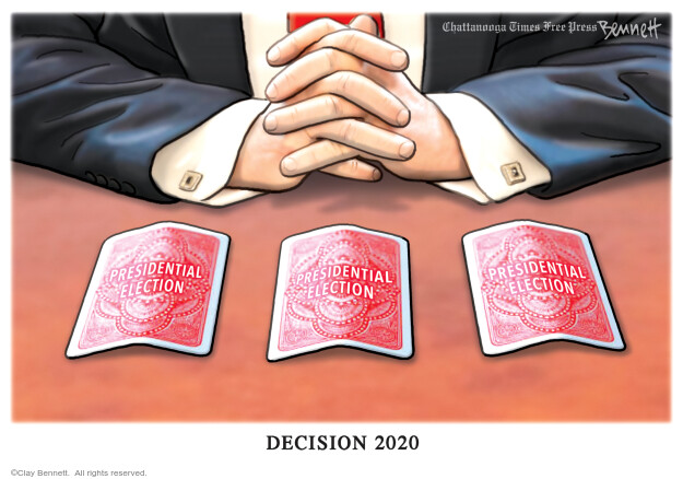 Clay Bennett  Clay Bennett's Editorial Cartoons 2020-09-25 Donald