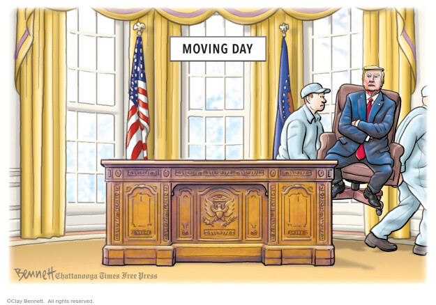 Clay Bennett  Clay Bennett's Editorial Cartoons 2020-09-26 voter