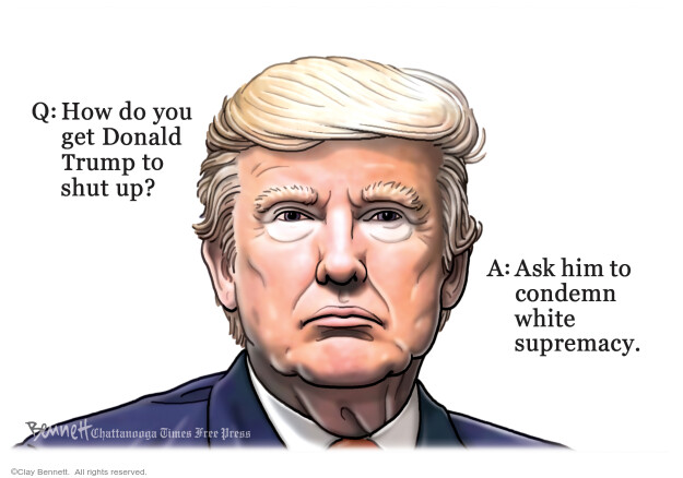 Clay Bennett  Clay Bennett's Editorial Cartoons 2020-10-04 Donald