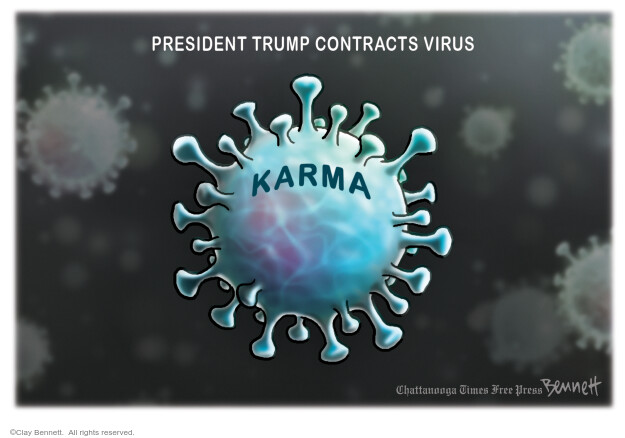 Clay Bennett  Clay Bennett's Editorial Cartoons 2020-10-03 Corona