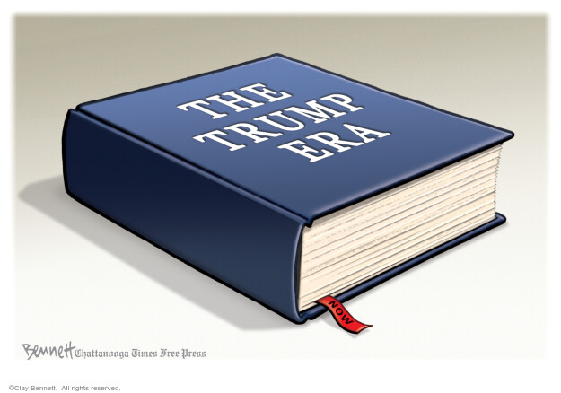 Clay Bennett  Clay Bennett's Editorial Cartoons 2020-10-11 Donald