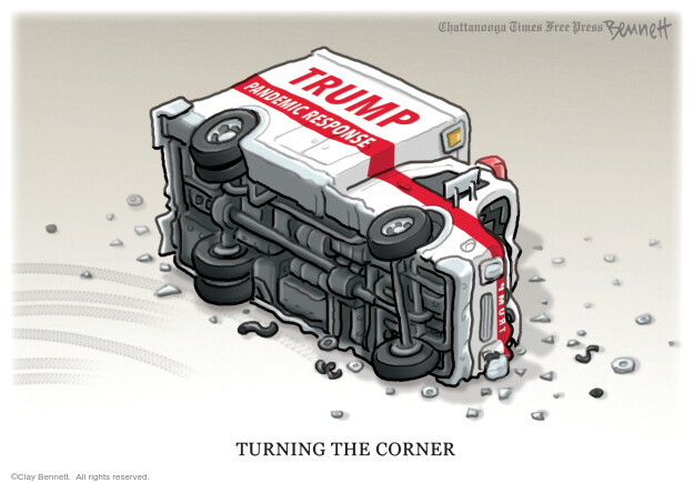 Clay Bennett  Clay Bennett's Editorial Cartoons 2020-10-17 coronavirus