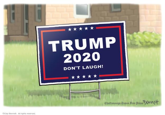 Clay Bennett  Clay Bennett's Editorial Cartoons 2020-10-21 Donald Trump