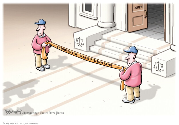 Clay Bennett  Clay Bennett's Editorial Cartoons 2020-11-03 2020 election candidate